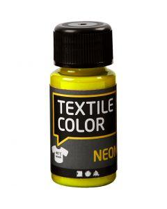 Textile Colour, amarillo neón, 50 ml/ 1 botella