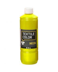 Textile Colour, amarillo neón, 500 ml/ 1 botella