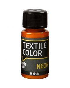 Textile Colour, naranja neón, 50 ml/ 1 botella