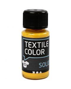 Textile Solid , opaco, amarillo, 50 ml/ 1 botella
