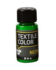 Textile Colour, verde neón, 50 ml/ 1 botella