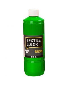 Textile Colour, verde neón, 500 ml/ 1 botella