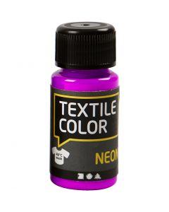Textile Colour, violeta neón, 50 ml/ 1 botella