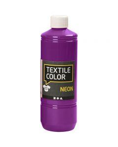 Textile Colour, violeta neón, 500 ml/ 1 botella