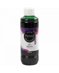 Acuarela líquida, verde, 250 ml/ 1 botella