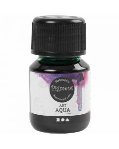 Acuarela líquida, verde, 30 ml/ 1 botella