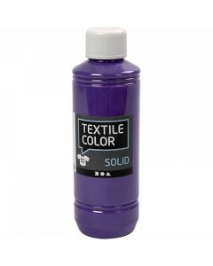 Textile Solid , opaco, morado, 250 ml/ 1 botella