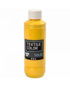 Textile Solid , opaco, amarillo, 250 ml/ 1 botella