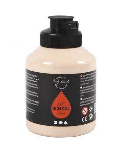 Pintura Pigment Art School, opaco, marfil claro, 500 ml/ 1 botella