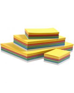 Cartulina Happy, 180 gr, colores primaverales, 1500 hoja/ 1 paquete