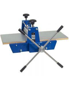 Imprenta con fijación, con engranajes, medidas 40x70 cm, 1 ud