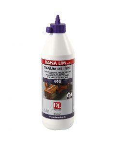 Pegamento para madera D2, 750 ml/ 1 botella