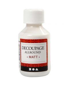 Barniz de découpage, mate, 100 ml/ 1 botella