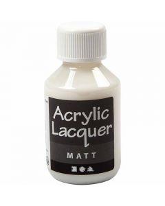 Barniz acrílico, mate, 100 ml/ 1 botella