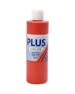 Pintura craft Plus Color, rojo brillante, 250 ml/ 1 botella