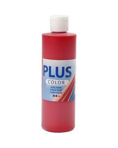 Pintura craft Plus Color, rojo carmesí, 250 ml/ 1 botella