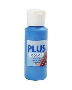Pintura craft Plus Color, azul primario, 60 ml/ 1 botella