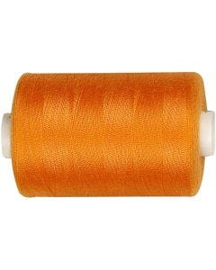 Hilo de coser, L. 1000 yards, naranja, 915 m/ 1 rollo