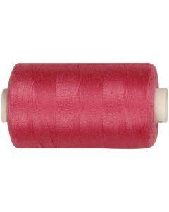Hilo de coser, L. 1000 yards, rosa, 915 m/ 1 rollo