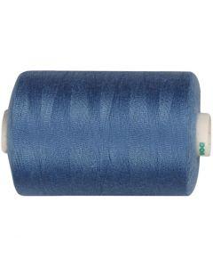 Hilo de coser, L. 1000 yards, azul-medio, 915 m/ 1 rollo