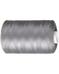 Hilo de coser, L. 1000 yards, gris, 915 m/ 1 rollo