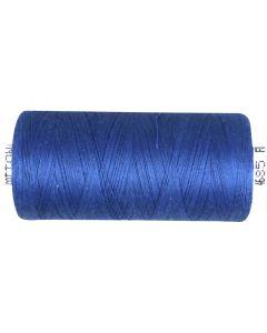Hilo para coser, azul-medio, 1000 m/ 1 rollo