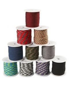 Cuerda de nylon, A: 5 mm, 10x10 m/ 1 paquete