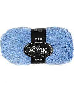 Fantasia lana acrílica, L. 80 m, azul, 50 gr/ 1 bola