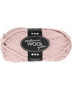 Melbourne lana, L. 92 m, rojo claro, 50 gr/ 1 bola