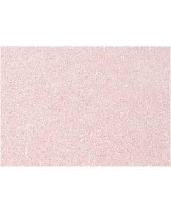 Fieltro para manualidades, A4, 210x297 mm, grosor 1 mm, rosado, 10 hoja/ 1 paquete