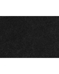 Fieltro para manualidades, A4, 210x297 mm, grosor 1,5-2 mm, Texturado, negro, 10 hoja/ 1 paquete