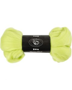 Lana, grosor 21 my, verde lima, 100 gr/ 1 paquete