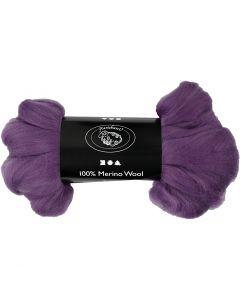 Lana, grosor 21 my, violeta, 100 gr/ 1 paquete