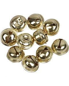 Cascabel, dia: 13+15+17 mm, dorado, 12 stdas/ 1 paquete