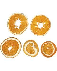 Rodajas de naranja secas, dia: 40-60 mm, 5 ud/ 1 paquete