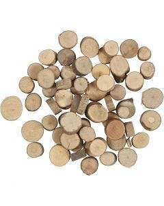 Disco de madera, 25 gr/ 1 paquete