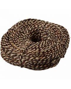 Cuerda marinera, A: 3,5-4 mm, marrón, 500 gr/ 1 fajo