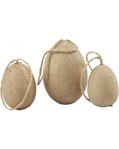 Huevos , A: 3+4+5 cm, 6 ud/ 1 paquete