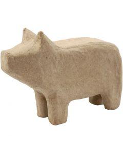 Cerdo, A: 9,5 cm, L. 14 cm, 1 ud