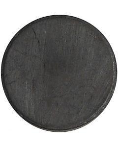 Imanes, dia: 14,5 mm, grosor 3 mm, 50 ud/ 1 paquete