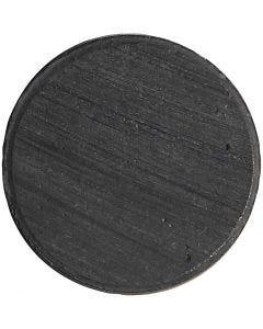 Imanes, dia: 20 mm, grosor 3 mm, 50 ud/ 1 paquete