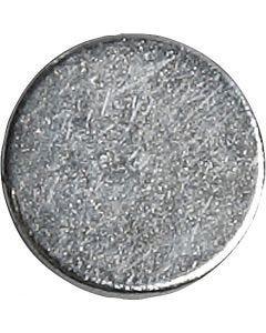 imanes, dia: 10 mm, grosor 2 mm, 10 ud/ 1 paquete