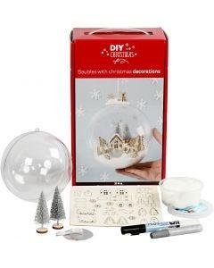 Kit para adorno navideño con decoración interior, 1 ud
