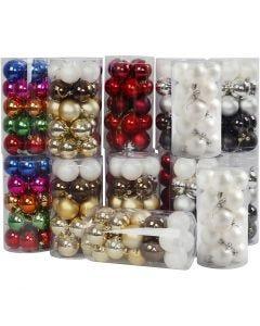 Bolas de Navidad, dia: 6 cm, 24x20 ud/ 1 paquete