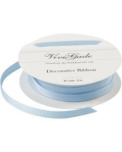 Cinta decorativa, A: 6 mm, azul claro, 15 m/ 1 rollo