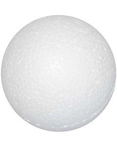 Bolas de poliestireno, dia: 3 cm, blanco, 100 ud/ 1 paquete
