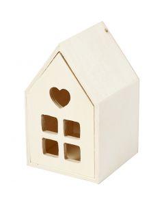 Casa con cajón, A: 10,8 cm, profundidad 6,8 cm, 1 ud
