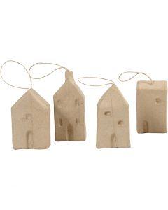 Casa, A: 9,5-12 cm, L. 5,5-6,5 cm, A: 3 cm, 4 ud/ 1 paquete