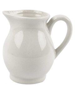 Jarra, A: 8 cm, 120 ml, blanco, 12 ud/ 1 caja