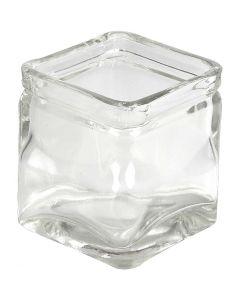 Candelabro, A: 8 cm, medidas 7,5x7,5 cm, 12 ud/ 1 caja